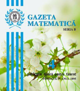 Gazeta Matematica nr. 4/2017
